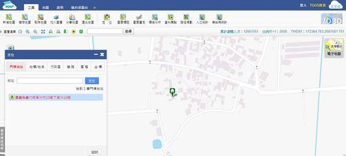 全國門牌地址定位-住家地址搜尋結果