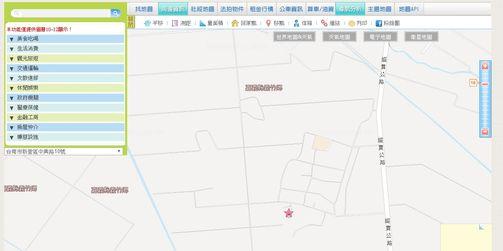 台灣電子地圖服務網-住家地址查詢