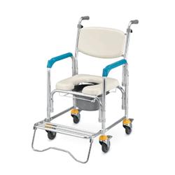 便盆椅推薦-四吋輪帶輪型便盆椅