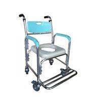 帶輪型便盆椅-中風輔具