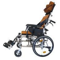 高背仰躺輪椅-中風輔具挑選