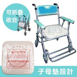 便盆椅推薦-FZK-4542 高度可調便盆椅