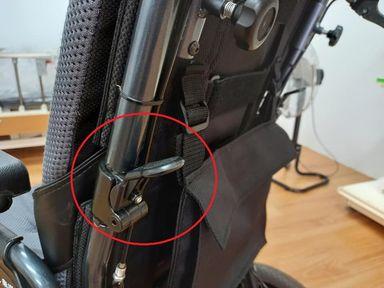 輪椅功能-輪椅後背可折