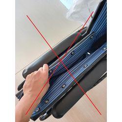 輪椅功能-輪椅骨架收折功能-錯誤使用