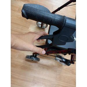 助步車剎車鎖定功能-【帶輪型助步車推薦介紹】-長輩想出門,但走不遠怎麼辦?