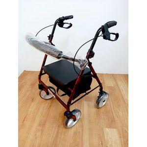 帶輪型助步車(大心醫療器材)-【帶輪型助步車推薦介紹】-長輩想出門,但走不遠怎麼辦?