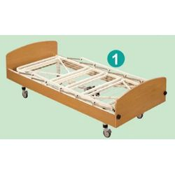 鋼網式照顧床