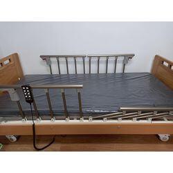 雙開式扶手照顧床