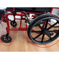 輪椅前後輪-輪椅挑選