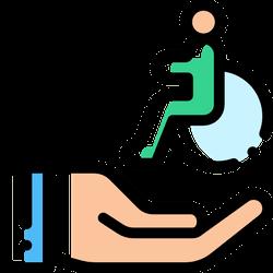下肢/腳骨折輔具直接介入