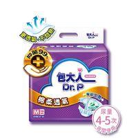 【包大人】棉柔透氣 黏貼型成人紙尿褲.尿布 箱購(M 16片x6包)