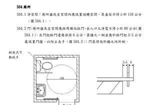建築物無障礙設施設計規範