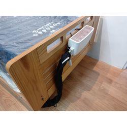 氣墊床夾在床尾