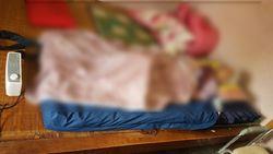 氣墊床直接放在彈簧床、木板床上(容易跌落)-氣墊床錯誤使用